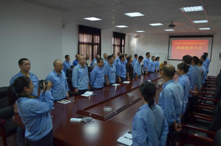 公司党委召开党员代表大会进行换届选举